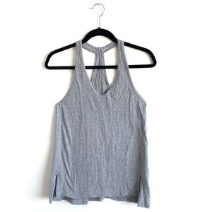 Lululemon grey tank